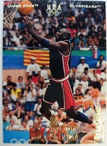 1996 Upper Deck Olympicard Michael Jordan #11 Team USA (Olympics) Olympic Card