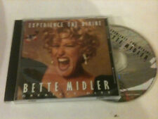 BETTE MIDLER 'Experience The Divine' Greatest Hits 1996 Aus CD - To Deserve You
