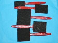 Schaumstoff-Pinsel-Set, 5-teilig