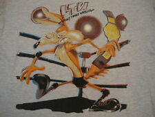 Vintage Looney Tunes Wrestling Wile E Coyote Warner Brothers Cartoon T Shirt XL