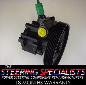 Citroen Dispatch 1.6 HDI 2007>2012 Genuine Remanufactured Power Steering Pump
