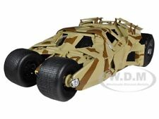 """THE DARK KNIGHT RISES"" BATMOBILE TUMBLER CAMOUFLAGE 1/18 HOTWHEELS BCJ76"