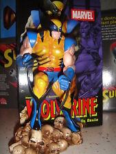 MARVEL X-MEN WOLVERINE on Skulls STATUE Maquette BUST Figure Figurine Movie Bust