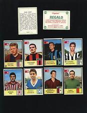 FIGURINE CALCIATORI MIRA 1965/66 65/66!!!!NUOVI ARRIVI RARE SCUDETTI FOTOCOLOR!!