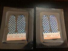 2 Color Street Nail Strips Atlantis Twosies (blue/purple mermaid design) RETIRED