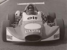 ALPINE A364 RENAULT F3 1972 WERNER SCHOMMERS LAUNCH ORIGINAL PERIOD PRESS PHOTO