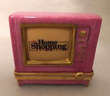 Limoges France ''Home Shopping Network TV'' Trinket Box  Retired