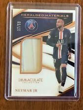 Neymar Jr 2019-20 Immaculate Heralded Materials Bronze Match Worn 17/50 PSG