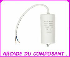 1 CONDO CONDENSATEUR DEMARRAGE MOTEUR 450V 60MF AVEC CABLE