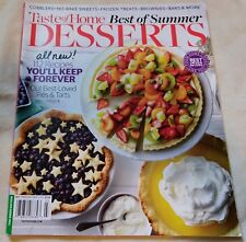Taste of Home Best of Summer Desserts Special 2017 Recipes Cooking