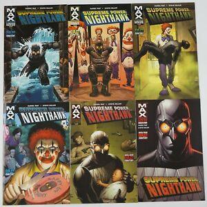 Supreme Power: Nighthawk #1-6 VF/NM complete series DANIEL WAY afrocentric set