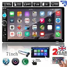 7'' Double 2 DIN Car Stereo Radio MP5 MP3 Player Head Bluetooth USB/TF/AUX IN