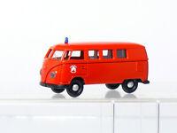 Brekina 3130 VW T1 Box Fire Brigade City Essen 1:87 / H0 Boxed #3