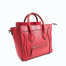 CELINE  Luggage nano shopper Handbag leather Women