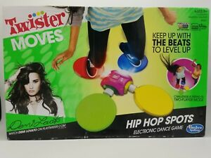 Demi Lovato Twister Moves Hip Hop Spots ElectronicDance Game Hasbro NEW Sealed