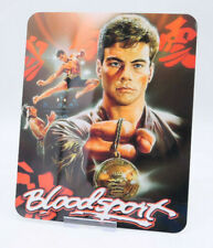 BLOODSPORT - Glossy Bluray Steelbook Magnet Cover (NOT LENTICULAR)