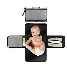 Baby Diaper Changing Mat Foldable Portable Nappy Pad Changing Clutch- Waterproof