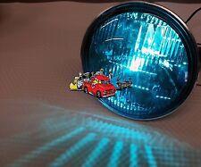New pair Harley Davidson parade Blue glass sealed beam lights motorcycle trike