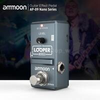 ammoon AP-09 Looper Nano Loop Electric Guitar Effect Pedal 10min Recording HOT