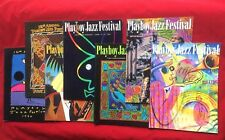 Lot of 7 Playboy Jazz Festival Souvenir Programs Hollywood Bowl Fest 1990-2002