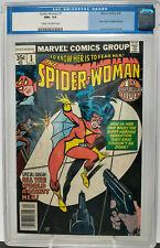 SPIDER-WOMAN #1 ~ CGC 9.6 NM+ ~ MARVEL 1978 ~ 1st Spider Woman Title & Origin