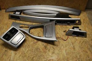 Genuine BMW E92 LCI Brushed Aluminium Interior Trim Panels with CIC controler