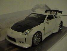 2003 NISSAN 350Z  Z33  BIG TIME KUSTOM 1:24 SCALE DIE-CAST METAL WHITE