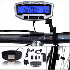Bicycle Bike Cycling LCD Computer Odometer Speedometer Velometer With Backlight