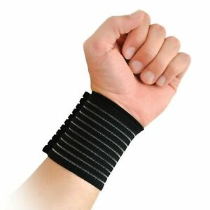 Protek Breathable Hand Wrist Support Band Protector Brace Elastic Injury Sport
