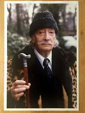 Salvador Dali in Paris, 1980, by S. Benhamou - Original Photo, Oversized 18x12
