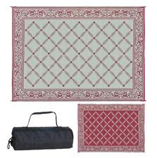 Outdoor Patio Camping Rv Rug Carpet Mat Reversible 9' x 12' Garden Backyard New