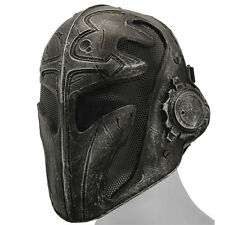 Templar Mask Airsoft Paintball Assassin Creed Knight Helmet Metal Wire Mesh PROP