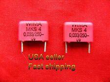 12 pcs - .033uf (0.033uf, 33nf) 250v Wima polyester film capacitors (s)