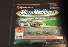New 1999 Micro Machines Dale Earnhardt Checkered Flag Series Nascar Winner's...
