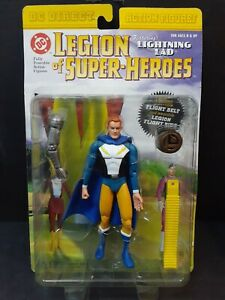 2001 DC Direct - Legion of Super-Heroes - LIGHTNING LAD with Legion Flight Ring