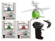 Mini ufo elicottero ad infrarossi telecomandato con 3 led senza fili luce