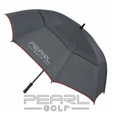 Pearlgolf golf paraguas-paraguas-Double canopy-gris/antracita