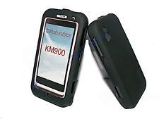 Crystal Cover Handy Case in Schwarz + Displayschutzfolie für LG KM900 Arena