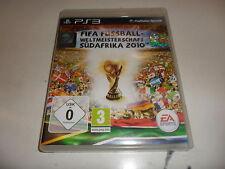 Playstation 3 ps 3 Fifa Football Coupe du monde 2010 Afrique du sud
