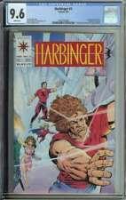 Harbinger #2 CGC 9.6 1st App Rock Valiant Coupon Included