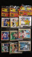 1987 Topps Baseball Rack Pack 3 Pack Lot