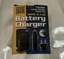 110V, Home Battery Charger, For Sony, Olympus, Nikon & Pentax, Camera Batteries
