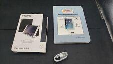 Ipad Mini Case Bundle for Apple Ipad Mini 1/2/3 with Tempured Glass & Charger