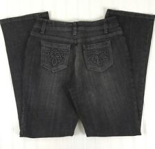 Motto Women's Jeans Size 4 Gray Straight Leg x61