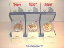 FRANCE / FRANKREICH 2007 LA SERIE DES 3 X 1,5 EUROS ASTERIX  AG BE/PP 2296 EX