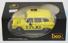 IXO Models 1/43 DieCast 1985  LONDON TAXI CAR Yellow AUSTIN FX4  -New In Box-