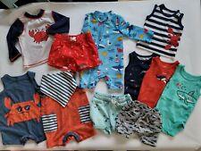 Baby Boy Clothes Carter Summer Lot nautical baby shark