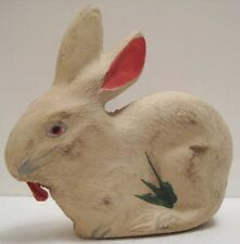 Unusual Easter Bunny Rabbit Rubber Squeeze Toy w/ Tongue Action Crazy!
