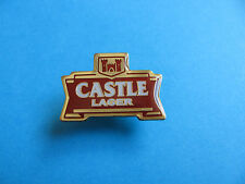 CASTLE Lager Pin Badge. VGC. Unused.