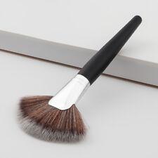Fan Shape Pro Makeup Cosmetic Face Powder Blush Contour Foundation Brushes Tool 04